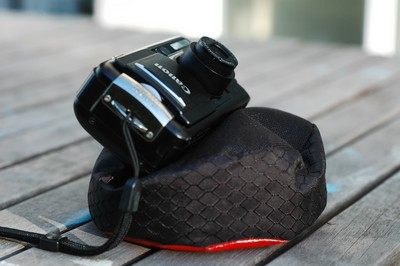 Pod with compact camera