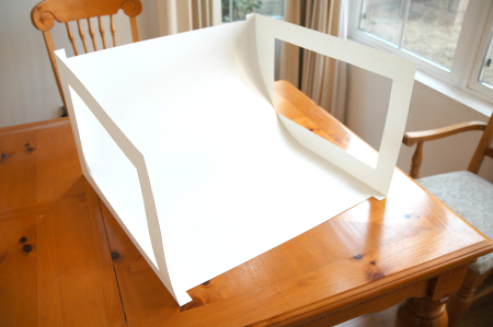 Light box constructed