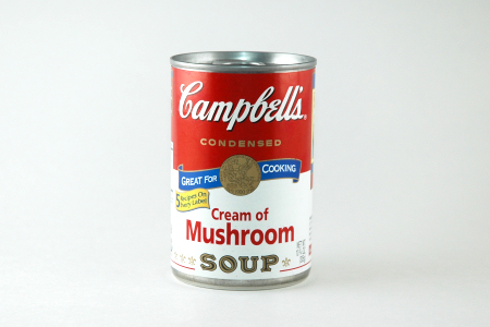 Light box soup can
