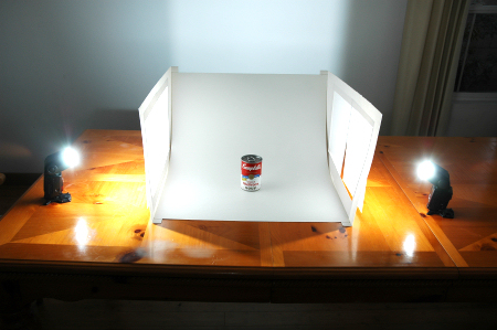 Light box wide view