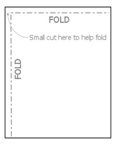 Light box fold