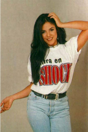 Photo of young Shakira