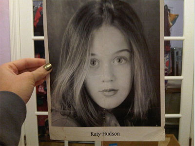 Katy Perry in youth