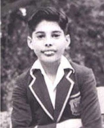 Freddie Mercury in youth