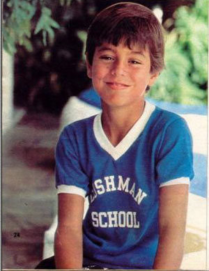 Enrique Iglesias in youth