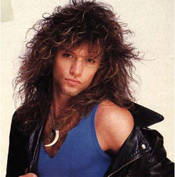 Jon bon Jovi  in youth