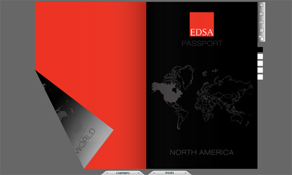 EDSA Flip pages