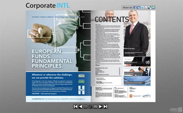 Corporate INTL Flip pages