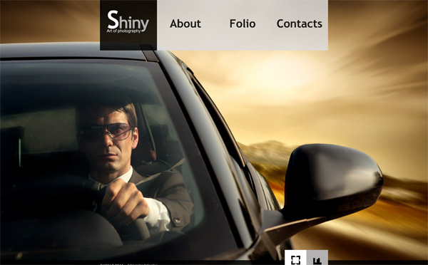 Car Flash CMS template