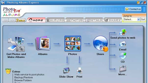 digital photo albums software