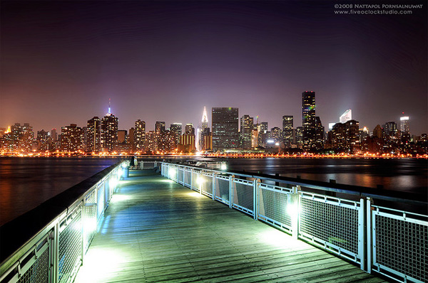 new york photos by night