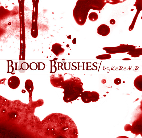 free halloween photoshop brush sets