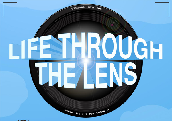 Infographic for Photographers: Life Through the Lens