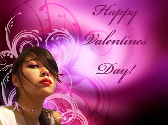 Valentines Day Card in Photoshop