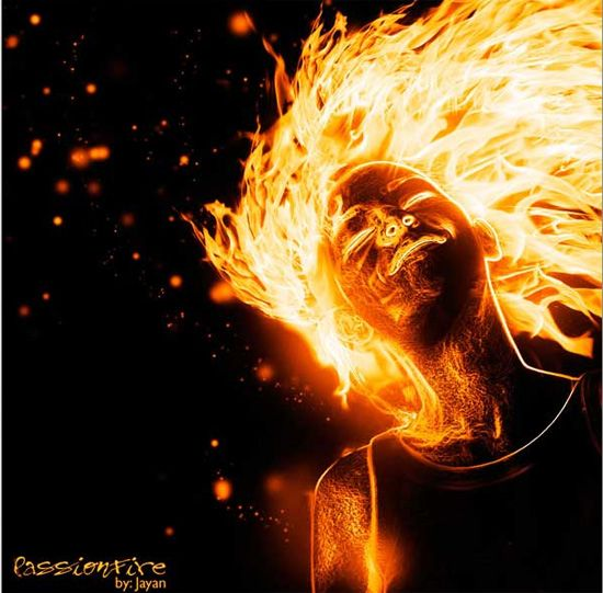 Create a Flaming Photo Manipulation