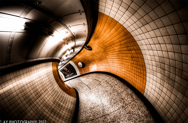 hdr tunnel photo