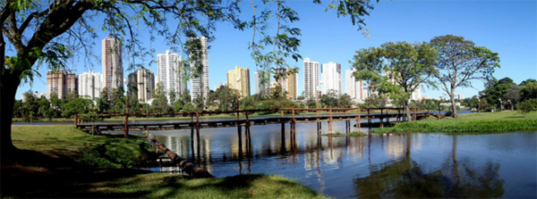panoramic view of South Brazil