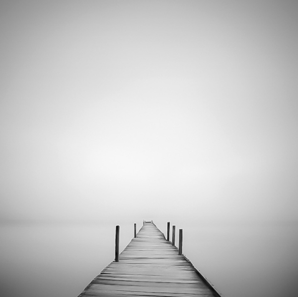 Minimalist Black And White Landscape Photography