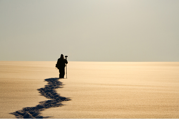 minimalist photography with people in focus