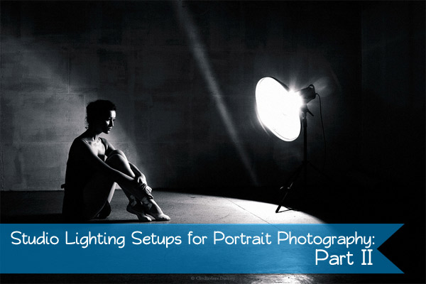 ... basics of lighting a studio portrait. Last ... & Studio Lighting Setups for Portrait Photography: Part II - Photodoto azcodes.com