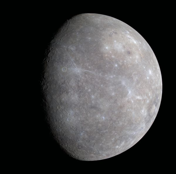 Mercury from the Messenger