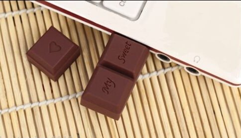 Chocolate Shape USB - Valentine's Gifts for Photographers