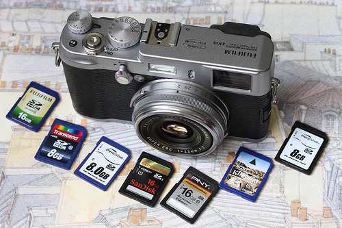 Best SDHC memory card for Fujifilm X100