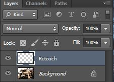 Retouch Layer
