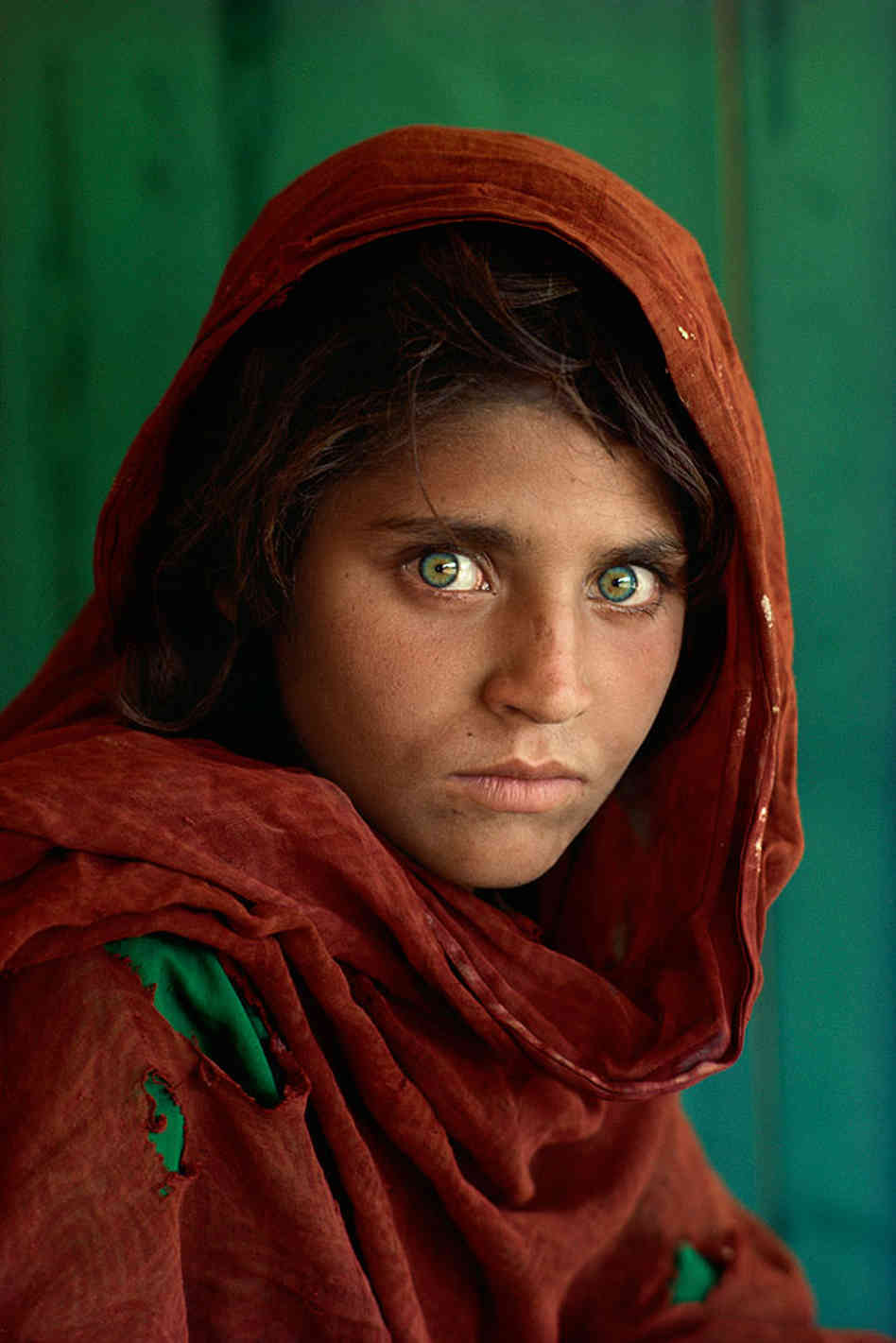 The Afghan Girl - Steve McCurry