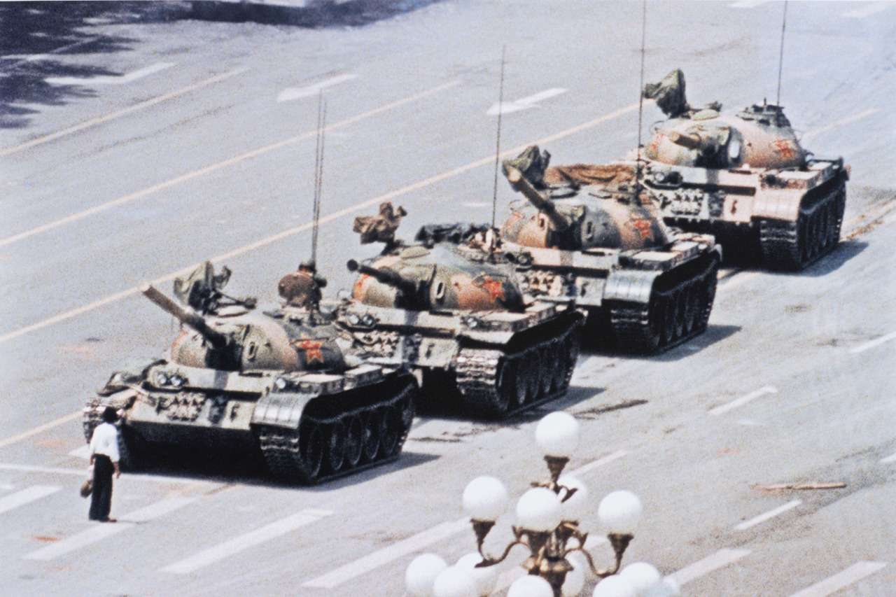 Tank Man - Jeff Widener