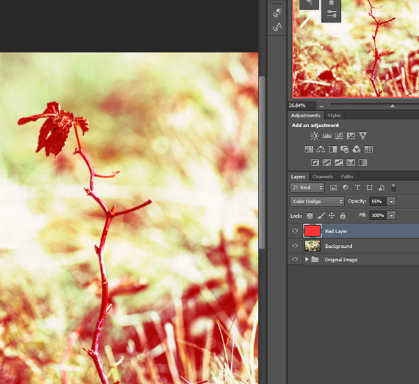 Keep in mind that you can always lower the opacity of layers with harsh effects.