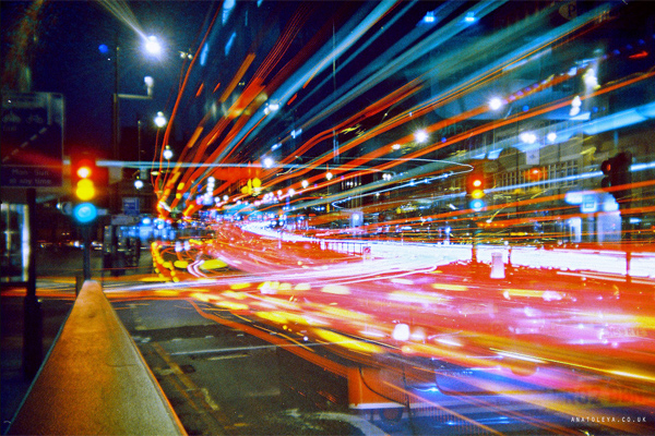 how to take long exposure shots in mobile