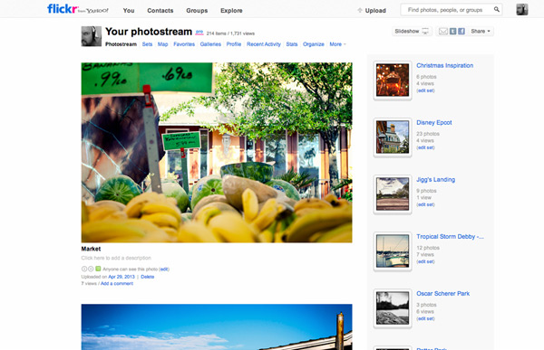 Flickr's greatest strength is its community.