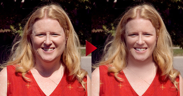 How to Slim a Face in Photoshop