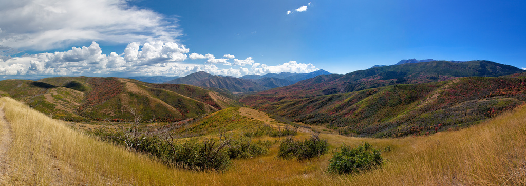 Panoramic stichings allow you to capture a much wider view than any wide-angle lens.  Photo by Jeremy Hall.