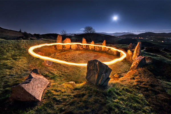 100 smashing examples of light painting photography 27 aloadofball Image collections