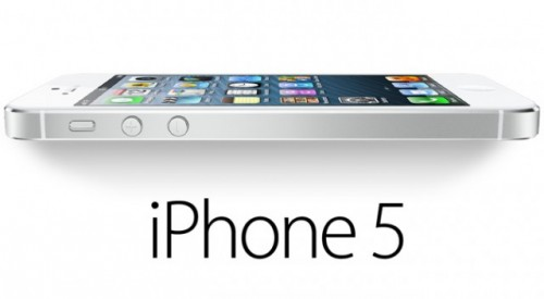 iPhone 5 Sideview