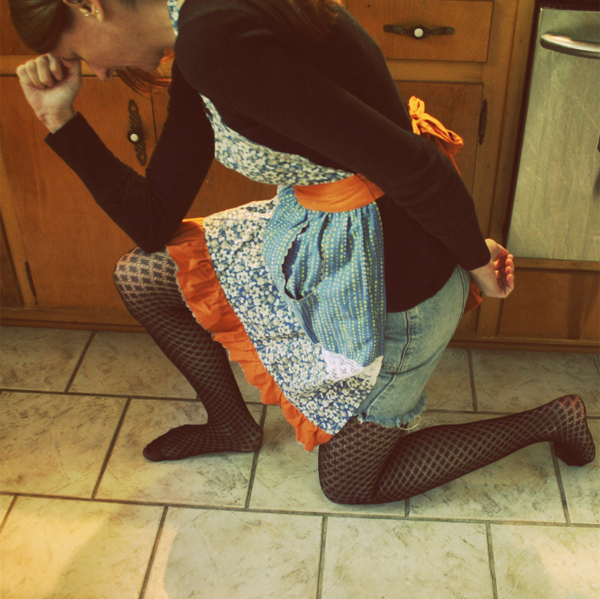 Tebowing in the Kitchen by Bunny Spice