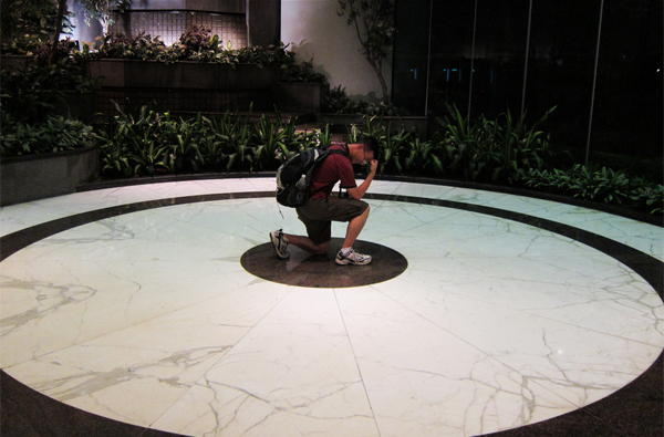 Tebowing, Pacific Place Mall, Central by its_a_big_deal