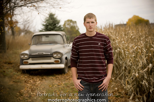 Senior portraits are a great way to provide a service and get good experience at the same time. Photo by Brandon Mulnix