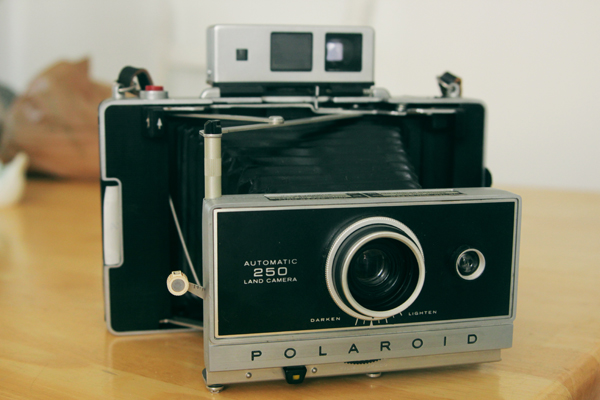 Polaroid land camera – Moises Lizarraga
