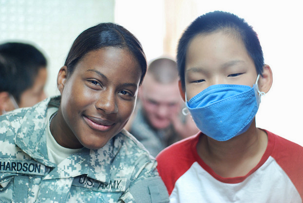 Hundreds of children's charities exist that could always use volunteer help. Photo by USAG-Humphreys