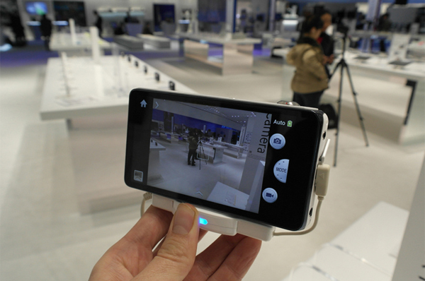 The camera touchscreen: It's where the future is headed. Photo by Samsung USA
