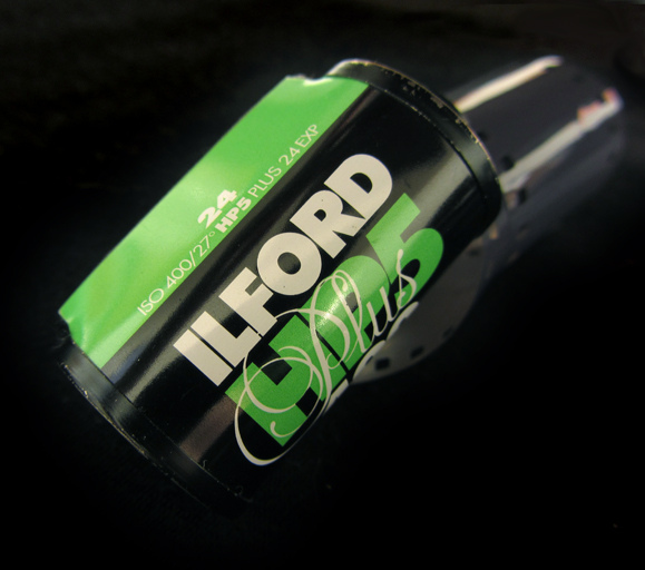 Ilford is an excellent and very popular black and white film brand.  Photo by Nita J Y.