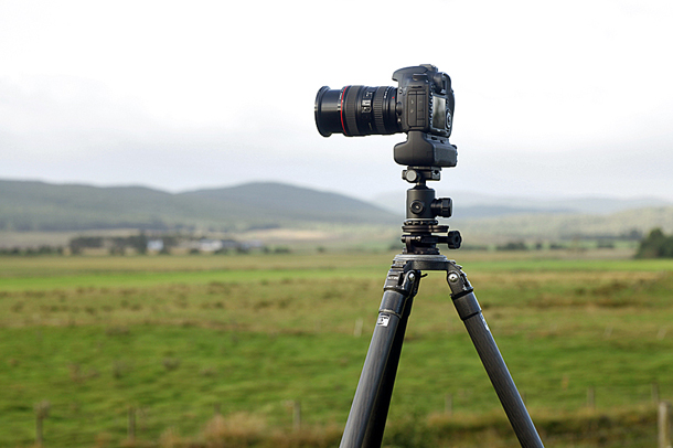 A tripod is most often a necessary piece of equipment when shooting landscapes.