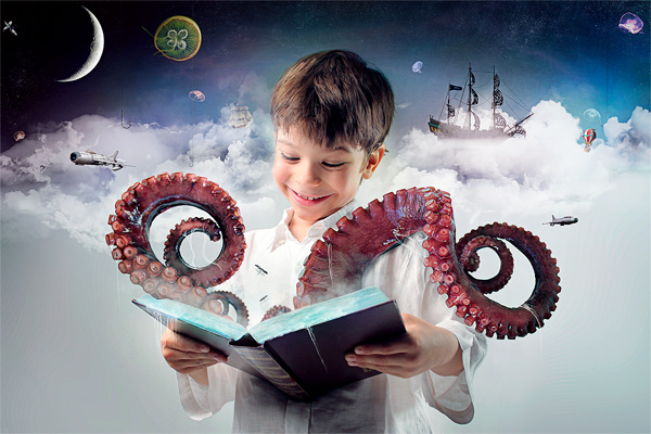 Photo Fantasy Book Cover Tutorial ~ Brilliant photo manipulation tutorials to understand
