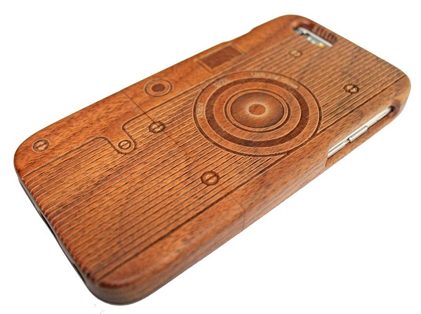 Bamboo Wood Camera Case for iPhone 6