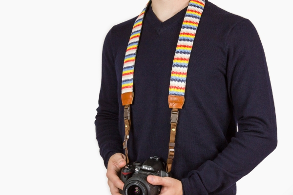 Zigzag Camera Strap - Photodoto Holiday Gift Guide
