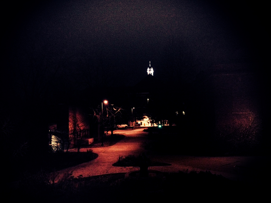 Nighttime Bell Tower