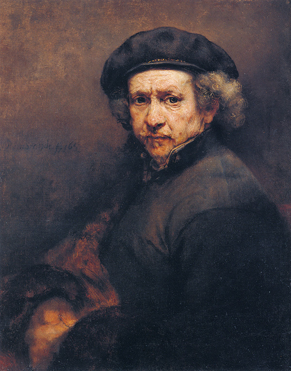 "Rembrandt, ""Self portrait"""